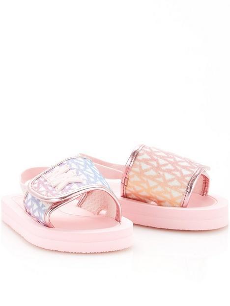 michael-kors-girls-monogram-logo-slider-barely-pink