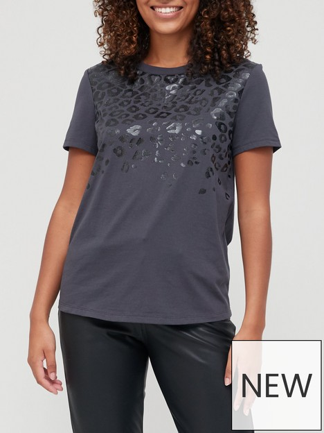 v-by-very-foil-animal-tee-charcoal