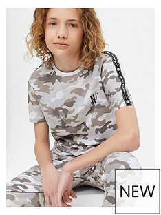 new-look-boysnbspsnow-camouflage-all-over-printnbsptee-multi