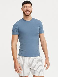 new-look-muscle-fitnbspt-shirtnbsp--blue