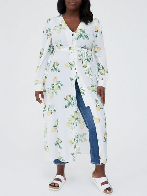 in-the-style-curve-in-the-style-curve-x-stacey-solomon-lemon-print-longline-tunic-blouse-white
