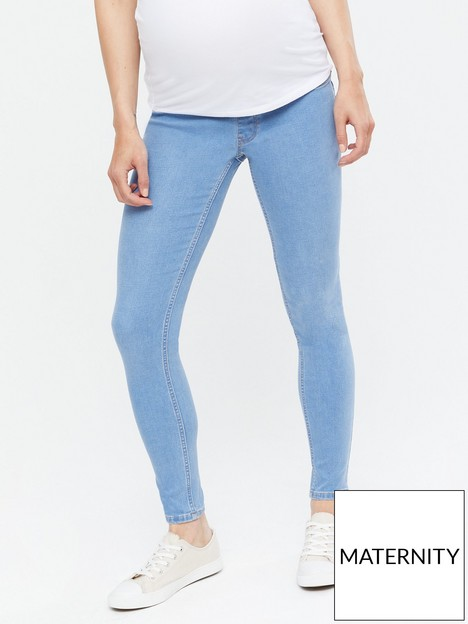 new-look-maternity-under-bump-jeggings-bright-bluenbsp