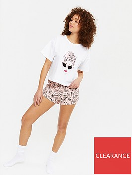 new-look-stay-sassy-lady-short-pjnbspset-white-print