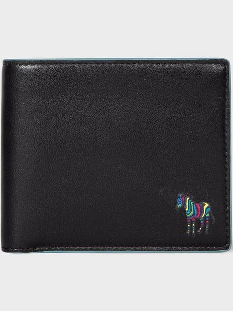 ps-paul-smith-mens-zebra-logo-leather-billfold-wallet-blacknbsp