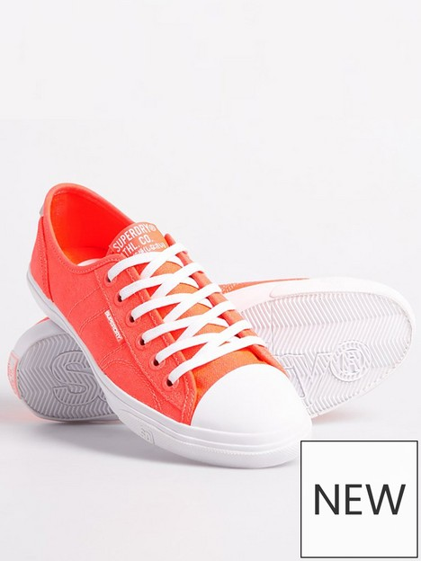 superdry-low-pro-sneaker-coral