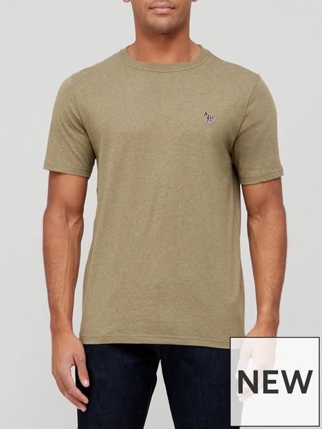 ps-paul-smith-zebra-logo-t-shirt-khaki