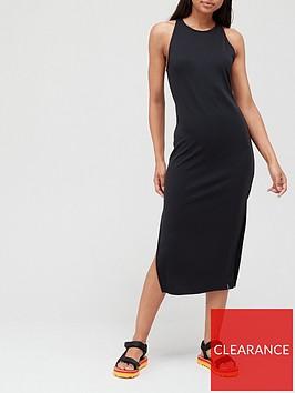 superdry-modal-mix-racer-neck-midi-dress-black