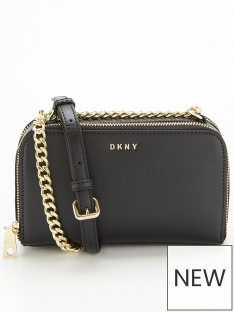 dkny-felicia-camera-bag-with-chain-blackgold