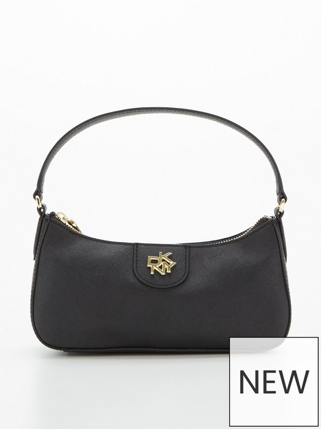 dkny-carol-small-baguette-bag-black