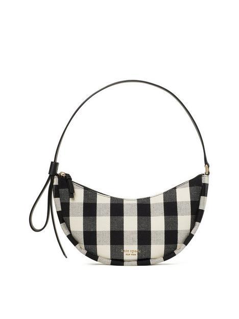 kate-spade-new-york-smile-gingham-shoulder-bag-black