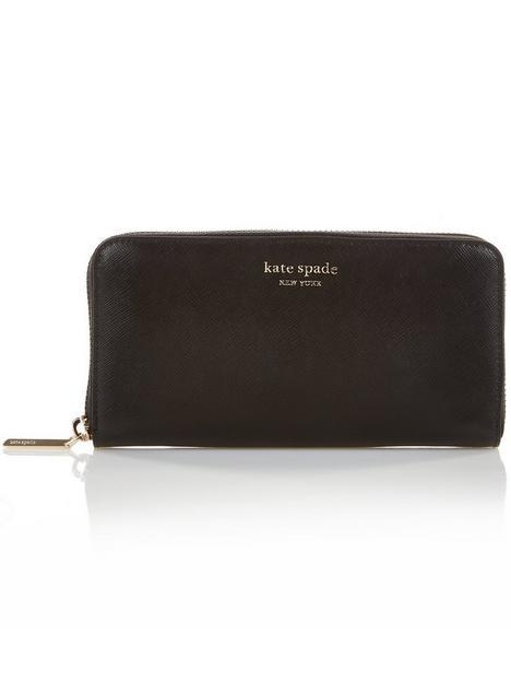 kate-spade-new-york-spencer-zip-around-wallet-black
