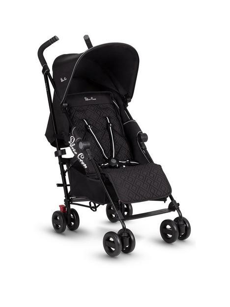 silver-cross-zest-black-stroller