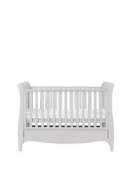 Tutti Bambini Roma Sleigh Cot Bed - Dove Grey