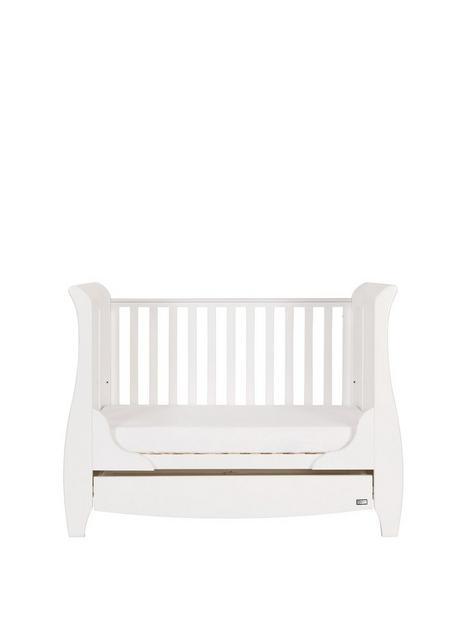 tutti-bambini-katie-mini-sleigh-cot-bed-white