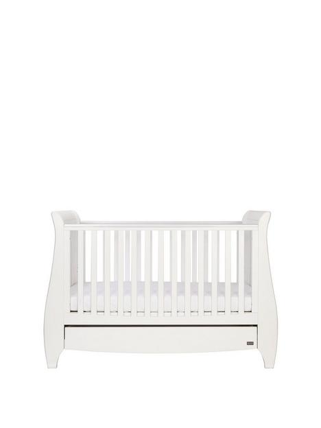 tutti-bambini-lucas-sleigh-3-in-1-cot-bed-white