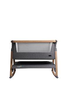 tutti-bambini-cozee-air-bedside-crib-oak-and-charcoal