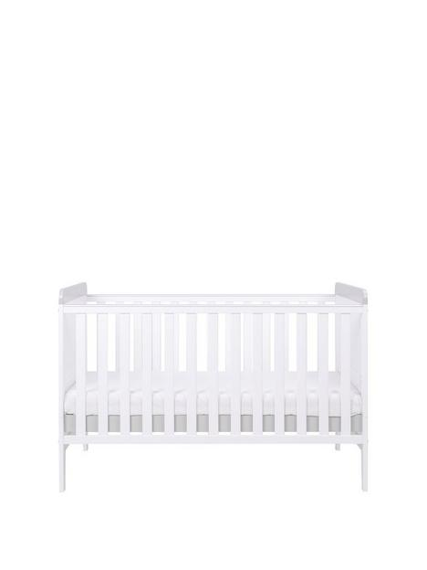 tutti-bambini-rio-cot-bed-with-cot-top-changer-mattress-whitedove-grey
