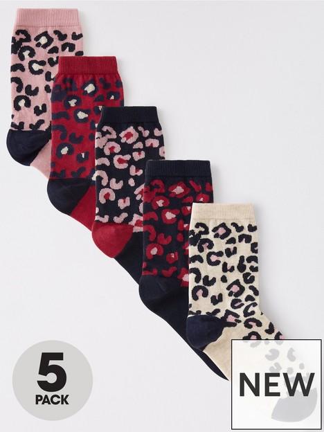 v-by-very-5-pack-animal-print-ankle-socks