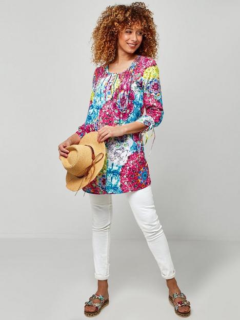 joe-browns-lovely-longline-blouse-multi