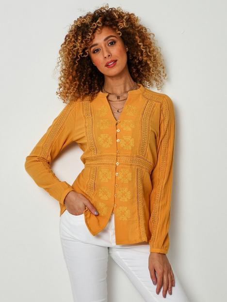 joe-browns-mellow-blouse-yellow