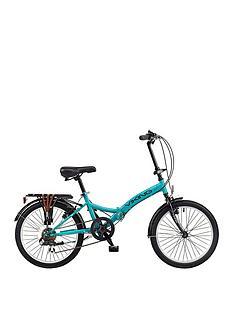 viking-viking-metropolis-20-inch-wheel-6-speed-folding-bike-aqua