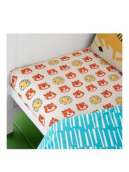 cosatto-tiger-tropics-junior-fitted-sheet-twin-pack