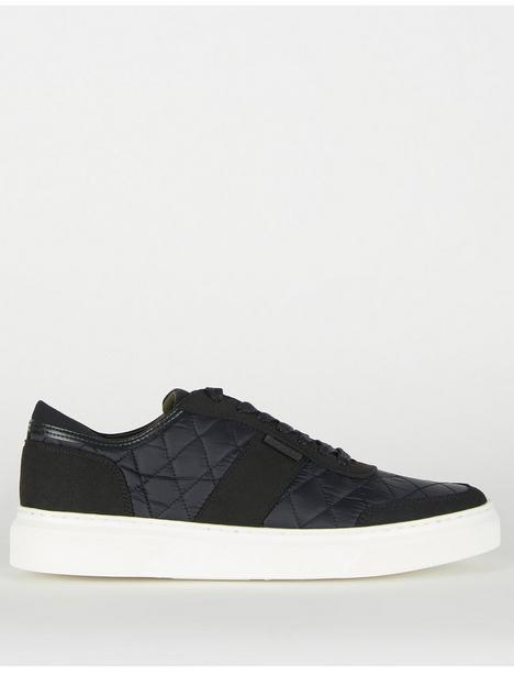 barbour-liddesdale-quilted-trainers-black