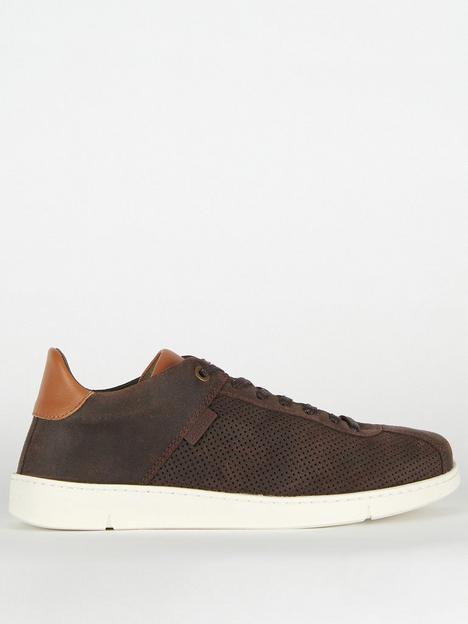 barbour-bushtail-leather-trainers