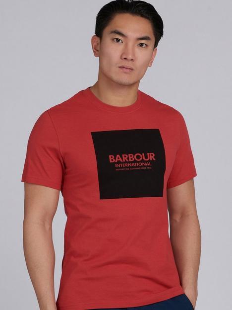 barbour-international-block-logo-t-shirt
