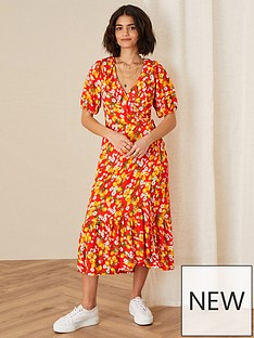 monsoon-lily-jersey-lemon-wrap-dress-red