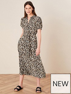 monsoon-animal-shirt-dress-midi-dress