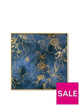art-for-the-home-golden-blooms-framed-canvas