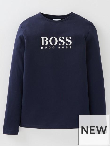 boss-boys-long-sleeve-t-shirt-navy