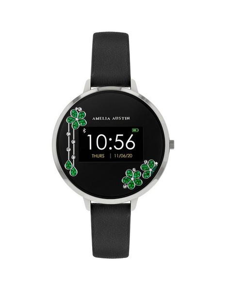 amelia-austin-crystal-cascade-ladies-smart-active-amp-fitness-watch