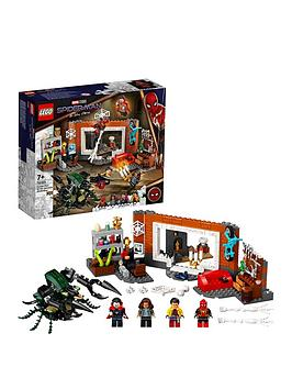 Lego Super Heroes Spider-Man At The Sanctum Workshop 76185