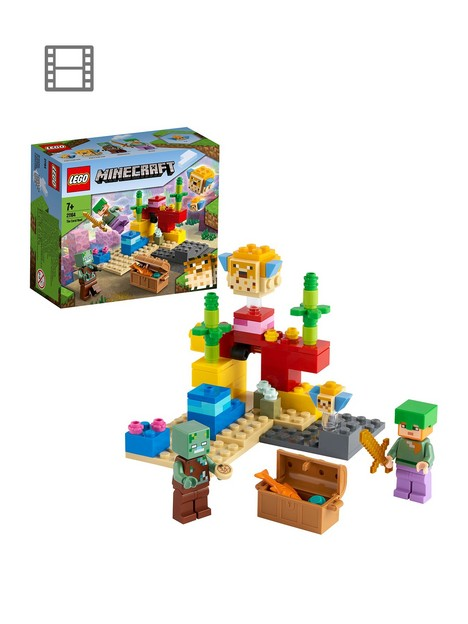 lego-minecraft-the-coral-reef-building-set-21164