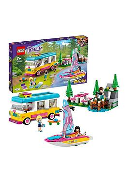 Lego Friends Forest Camper Van &Amp; Sailboat Set 41681 Best Price, Cheapest Prices
