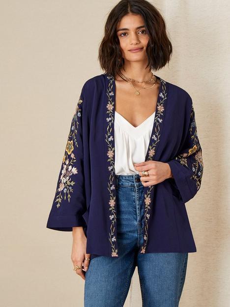monsoon-floral-emb-short-kimono
