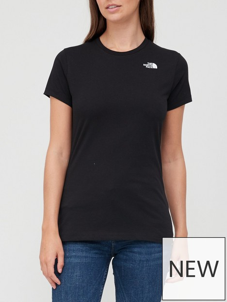 the-north-face-short-sleeve-simple-dome-t-shirt-black