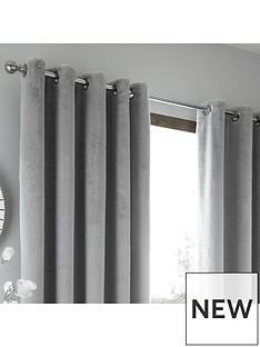 caprice-brigitte-faux-fur-eyelet-curtains-66x72