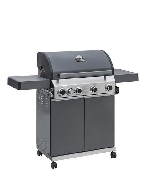 grillstream-grillstream-classic-4-burner-hybrid-bbq-with-side-burner-matt-grey