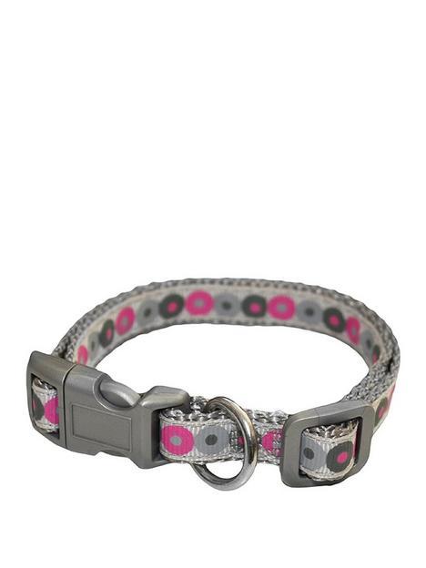 little-rascals-little-rascals-puppy-collar-lead-set-pink