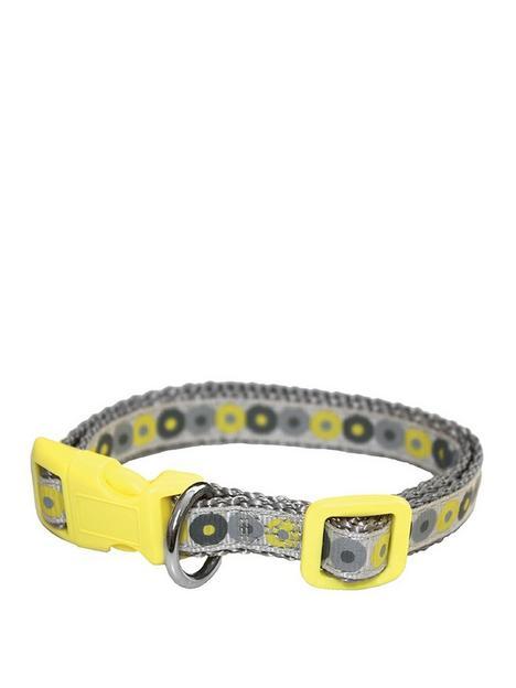 little-rascals-little-rascals-puppy-collar-lead-set-yellow