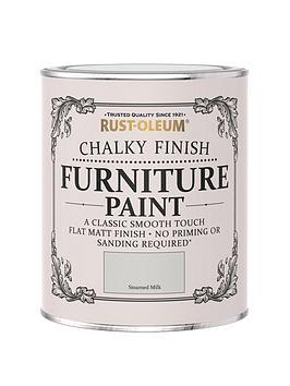 Rust-Oleum Rust-Oleum Chalky Furniture Paint Steamed Milk 750Ml