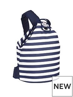 coast-navy-stripe-insulated-duffle-bag