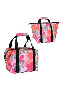 Tribal Fusion Insulated Convertible 2 In 1 Family Cool Bag (20L) - Floral Design