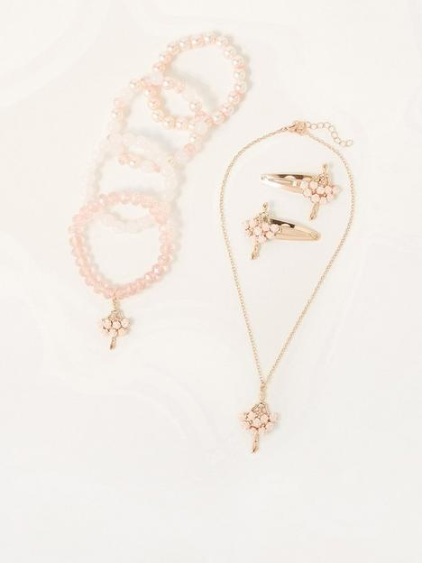 monsoon-girls-christina-ballerina-jewellery-set-pink