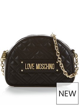 love-moschino-small-quilted-cross-body-chain-bag-black