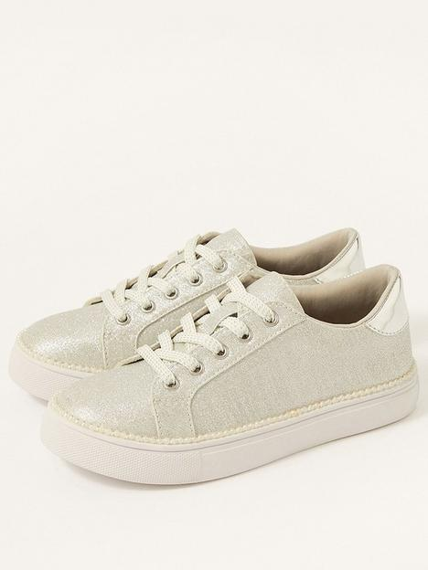 monsoon-girls-shimmer-pearl-edge-trainers-silver