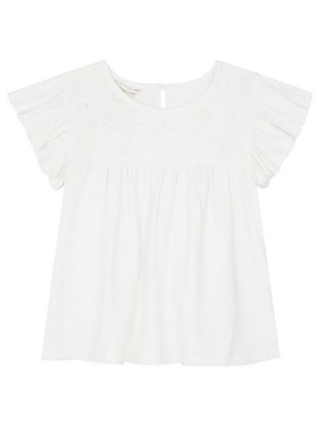 monsoon-girls-flower-applique-jersey-top-ivory